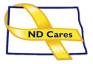 ND Cares Yellow Ribbon Logo